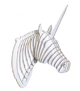 Licorne Merlin The Unicorn Large Blanc