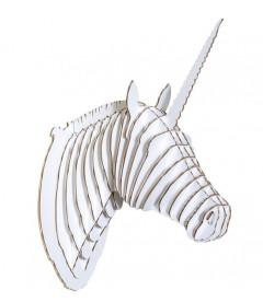 Licorne Merlin The Unicorn Large Blanc
