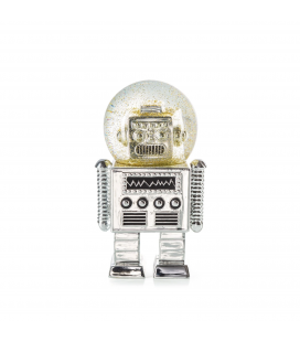 The Robot Summerglobe Silver