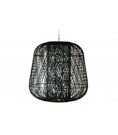 Suspension Moza XXL Bambou Noir 100/100cm
