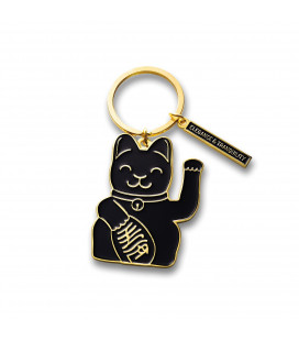 Port-Clés Lucky Cat Black