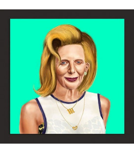 Tableau Margaret Thatcher par Amit Shimoni