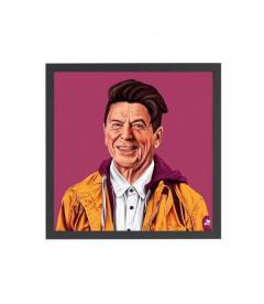 Tableau Ronald Reagan par Amit Shimoni