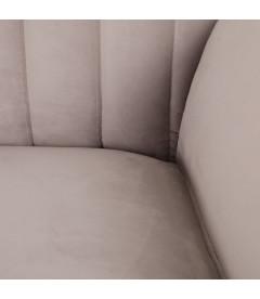 Canapé Comodo 2 Places Gris Marengo 176cm