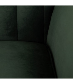 Canapé Comodo 2 Places Vert Foncé 176cm