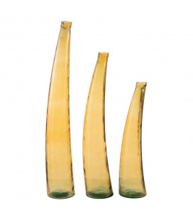 Vase XL Garofa Jaune 80cm