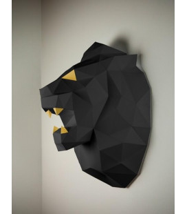 Lion Noir & Or DIY - Colle Offerte