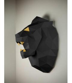 Lion Noir & Or DIY - Colle Offerte