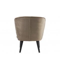Fauteuil Sara Vieux Or Olive