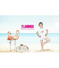 Flamingo - Sac de Rangement de Jouets
