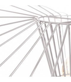 Suspension Filaire Libellule XXL Métal Blanc 120cm