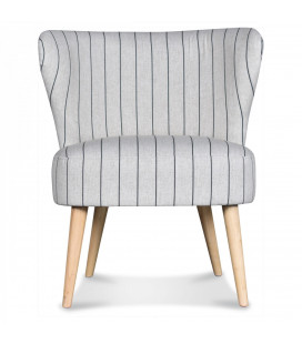 Fauteuil Lilly Gris