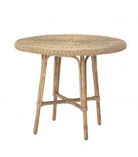 Table Junior Julietta Rotin Ø80xH71cm Bloomingville