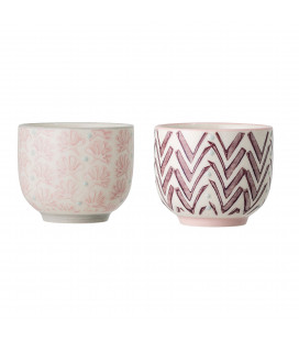 Set de 2 Tasses Expresso Assorties Maya Bloomingville