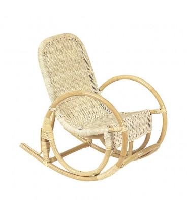 Rocking Chair Enfant en Rotin