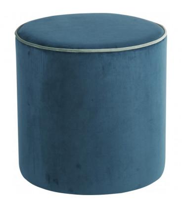 Pouf Countra Bleu Canard/Vert De Gris