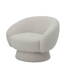 Fauteuil Ted Blanc Bloomingville