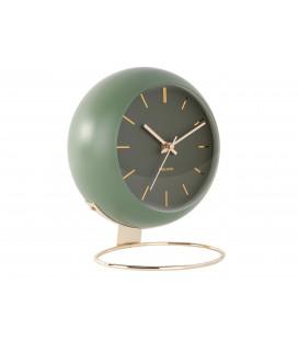 Horloge XL Globe Vert Mousse Karlsson H.24,5cm