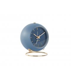 Horloge Globe Bleue Karlsson H.10,5cm