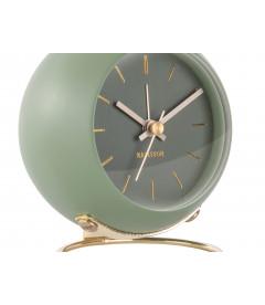 Horloge Globe Vert Mousse Karlsson H.10,5cm
