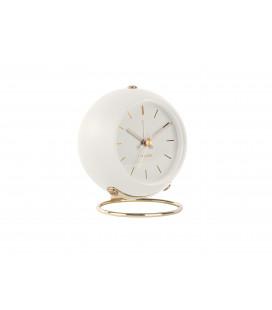 Horloge Globe Blanche Karlsson H.10,5cm