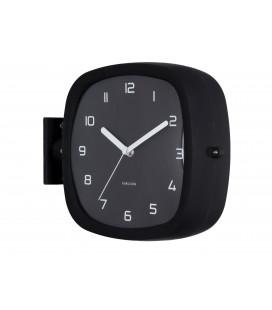 Horloge Murale Double Face Karlsson Doubler Noir