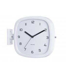 Horloge Murale Double Face Karlsson Doubler Blanc