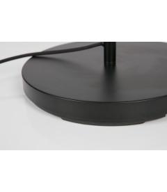 Lampe Pien Noir 53 cm avec Abat-Jour Noir/Laiton