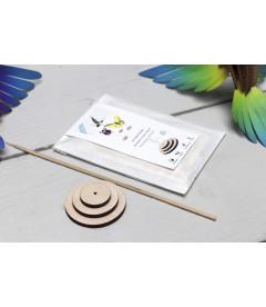 Kit Support Oiseaux et Insectes DIY