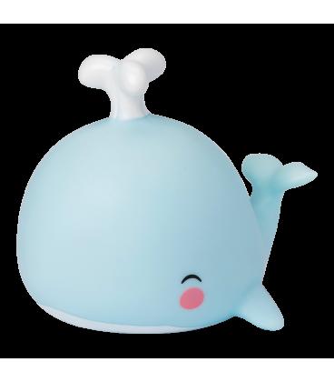 Veilleuse Baleine Bleue LED