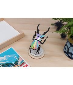 Kit Scarabée Coléoptère Rainbow Mirror DIY