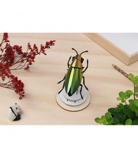 Kit Scarabée Bijou Vert Mangue DIY