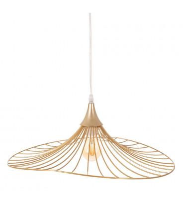 Suspension Filaire Papillon Métal doré 50cm
