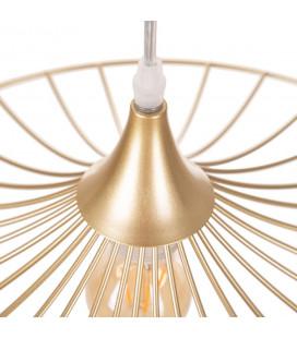 Suspension Filaire Papillon Métal doré 40cm