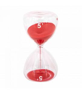 Serax Sablier Sable Rouge 5 Minutes