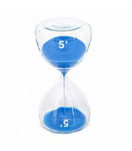 Serax Sablier Sable Bleu 5 Minutes