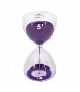Serax Sablier Sable Violet 5 Minutes