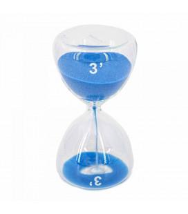 Serax Sablier Sable Bleu 3 Minutes