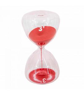 Serax Sablier Sable Rouge 3 Minutes