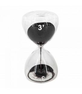 Serax Sablier Sable Noir 3 Minutes