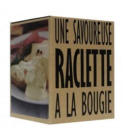 Cookut Set de 4 raclettes individuelles à la bougie