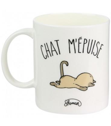Mug Chat M'Épuise