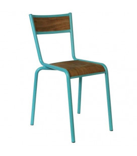 Lot de 2 Chaises Pilot Bleu Mint