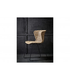 Lot de 2 Chaises Wings Rotin Polyester