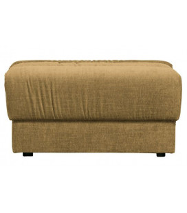 Pouf Date Velours Gold