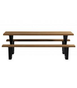 Table de Pique-Nique Aluminium/Bois