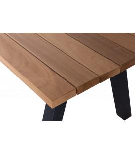 Table à Manger Tablo Aluminium/Bois