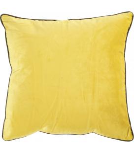 Coussin Countra Jaune Citron/GrisTaupe 45/45cm Athezza