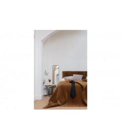 Tête de lit Rotin Naturel Ajouré Motif Floral - 1 Personne