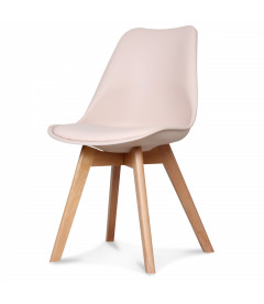 Chaise Copenhague Blush + Coussin